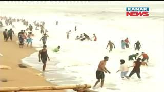 Dangerous Puri Sea Beach