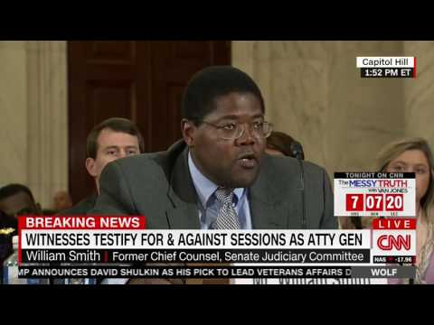William Smith Destroys Democrats Sessions Smears