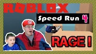 ROBLOX - Speed Run 4 RAGE! | A 4 Year Old Raging on Speed Run 4 #Roblox