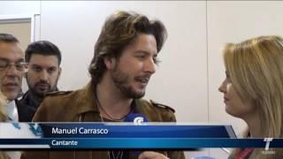 Manuel Carrasco, apoyando a Huelva en Fitur