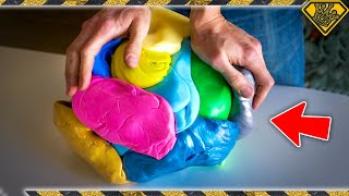 Will 25 LBS of SILLY PUTTY Bounce?