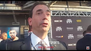 GGG promoter talks shock Gennady had when he told him about the fight!