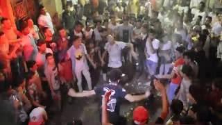 صالح فوكس ويوسف كاابو رقص علي مهرجان اسلام عبد النعيم غناء تيم مونستا في فرحة سمارة