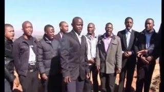 Wacha Mkhukhu Wachumlilo at Nkosana Tombstone Unveiling (Cemetry)