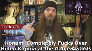 Konami Completely Fucks Over Hideo Kojima at the Game Awards