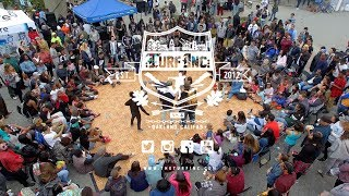 TURFinc x Jack London Square TURFIN vs Theworld Part 2  Dance Battle / Festival Trailer July1st 2017