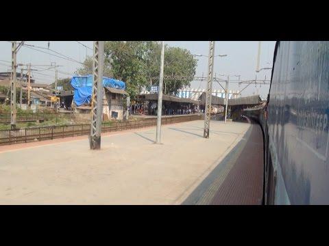 3AC Sleeper Coach Interiors & High Speed Skip of Kurla, Mumbai from Superfast Sewagram Express
