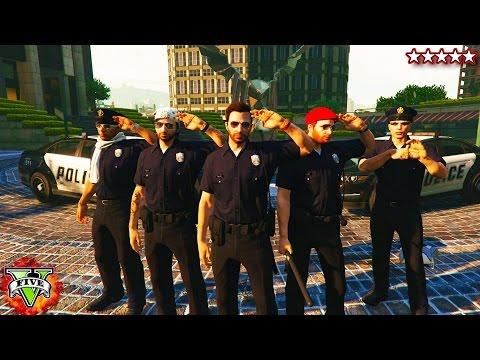 BREAKING THE LAW! - GTA 5 Mini-Series #1 - Bad Cops On Patrol (GTA 5)