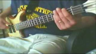 """""""How to play bass guitar"""" """"Cumbersome"""" by """"Seven Mary Three"""" on """"Bass guitar"""" free video lesson"""