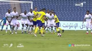 هدف النصر الأول ضد الأهلي (فيكتور أيالا) في الجولة 6 من دوري جميل