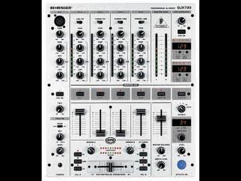 COMO CONECTAR  MIXER BEHRINGER DJX700