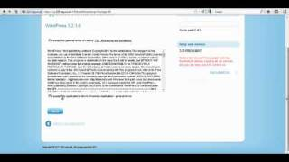 How to Install Wordpress withing 123-Reg - Building your own website - Part 3