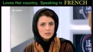 لیلا حاتمی و صحبت به چهار زبان دنیا   Leila Hatami Speaks 4 languages