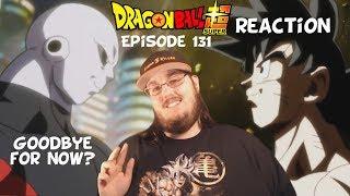 Dragon Ball Super Episode 131 HD English Subbed (Farewell Goku! Until We Meet Again!?!?) REACTION!!!