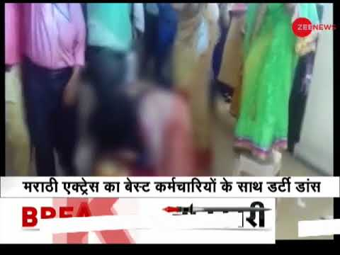 Xxx Mp4 Marathi Actress Madhavi Juvekar Dirty Dance With BEST Workers Goes Viral On Internet 3gp Sex
