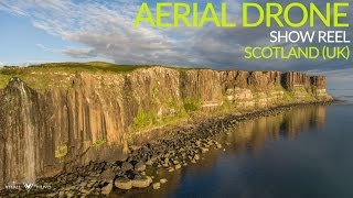 Drone over Scotland (UK) Promotional Show Reel Clip 3 - Aerial Drone Footage (Vitali Films)