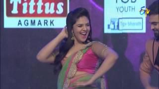 Pradeep, Srimukhi Intro   Super Masti  Kurnool   5th February 2017   ETV Telugu