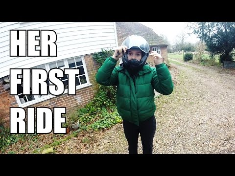 Her FIRST TIME Riding a Motorcycle   The Worst Thing About Motorcycles?