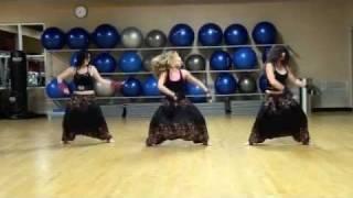 Zumba class with Yana Canada - Sadi Gali Bhangra Punjabi Boho Style dance