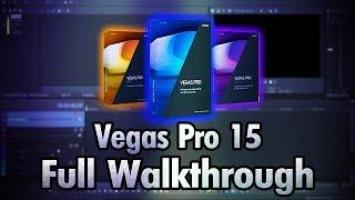 Vegas Pro 15 Released! (Full Walkthrough)
