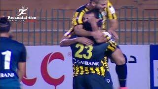 """الهدف الثاني لـ المقاولون العرب امام انبي """" رامي عادل """" الجولة الـ 10 الدوري المصري"""