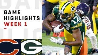 Bears vs. Packers Week 1 Highlights | NFL 2018