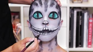 Cheshire Cat Halloween Makeup Tutorial | Real Techniques
