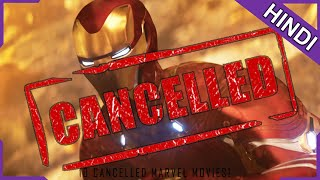 10 Marvel Movies Cancelled For Mind-Blowing Reasons! Explained in Hindi!