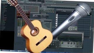 Video 26 _ FL STUDIO / FRUITY LOOPS VON A - Z  (Aufnehmen, Record, Recording Asio4All)