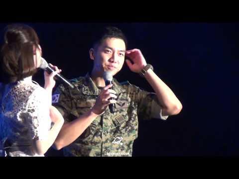 Lee Seung Gi ( 이승기 ) as MC for 13th SWC 40th Anniversary Concert Eng & Esp CC Sub