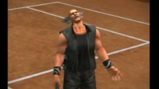 Smash Court Tennis 2 - Cassandra vs. Heihachi