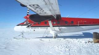 Twin Otter on station, DR15