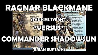 Ragnar Blackmane versus Commander Shadowsun - Warhammer 40,000: Conquest