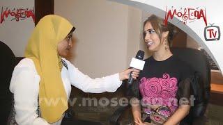 رنا سماحة - أقتدي بتامر حسني ومعجبة بأغاني الهضبة