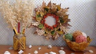 Kendin Yap, Sonbahar Dekorasyon Fikirleri - 4 Harika Tasarım - DIY Autumn Project