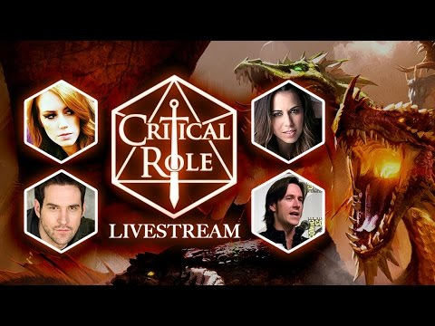 Critical Role at GameSpot Livestream