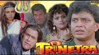 Trinetra - Mithun Chakraborthy, Dharmendra & Shilpa Shirodkar - Full HD Action Movie