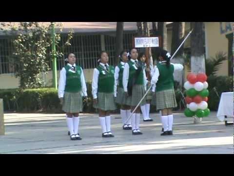 Primer lugar concurso escoltas 2011
