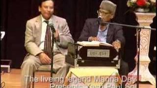 Manna Dey pays tribute to Mohammed Rafi