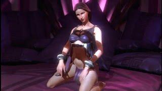 God of War III Remastered -  Kratos vs Aphrodite (Nudity)