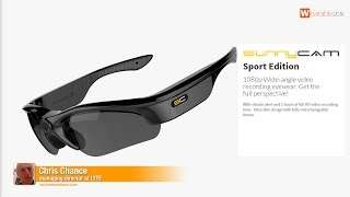 Lyte: wide angled full HD video recording glasses- The best of Wearable Technology Show 2016