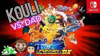 Pokken Tournament DX - Nintendo Switch Game Play - Kouli vs Dad