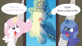[MLP Comic Dub] The Continuing Adventures of Parental Starswirl - Flying Lessons (cute/comedy)