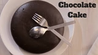Eggless Chocolate Cake Recipe - Chocolate Cake in Pressure Cooker - Valentine's Special Cake Recipe