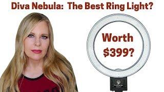 Diva Nebula LED Ring Light Unboxing | Review | Setup | Testing In The Dark & Light