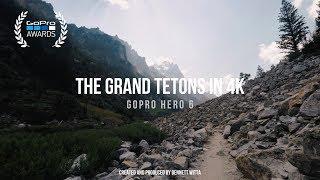 GoPro Hero 6   Grand Tetons in 4K
