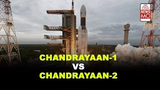 What is the difference between Chandrayaan-1 & Chandrayaan-2?