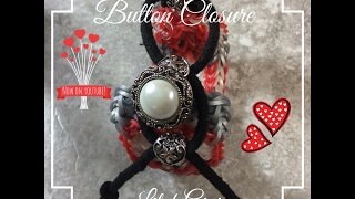 NEW Button Closure for Angel's Healing Heart Bracelet