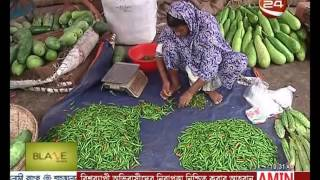 কমছে কাঁচা মরিচের দাম - Channel 24 Youtube