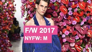 Palomo Spain Fall / Winter 2017 Men
